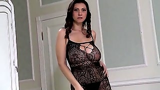 Pretty mom   her sweet saggy hanging sweet giant boobs