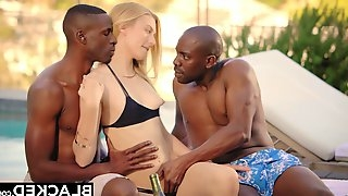 BLACKED Alexa Grace First Interracial 3Some Orgy