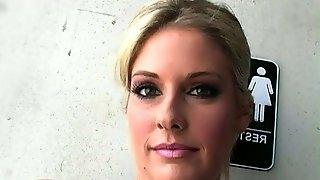 Faith Deluca in an Underground Punk Gloryhole Video!