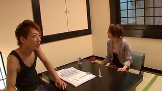 Small boobs Japanese girl enjoys getting fucked apart from a stranger