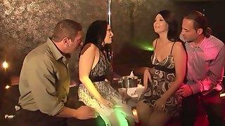 Striking Priscilla Jane And Velvet Licx Exchange Their Couples